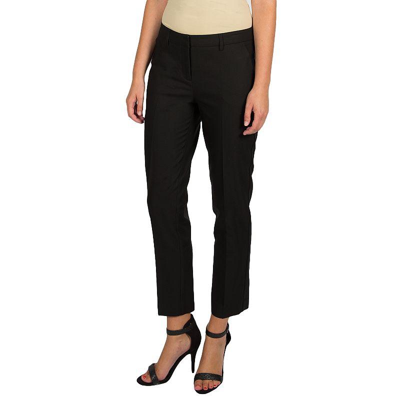 Women's Harve Benard Slim Ankle Dress Pants
