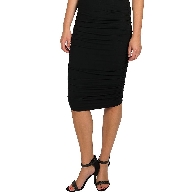 Women's Harve Benard Ruched Pencil Skirt