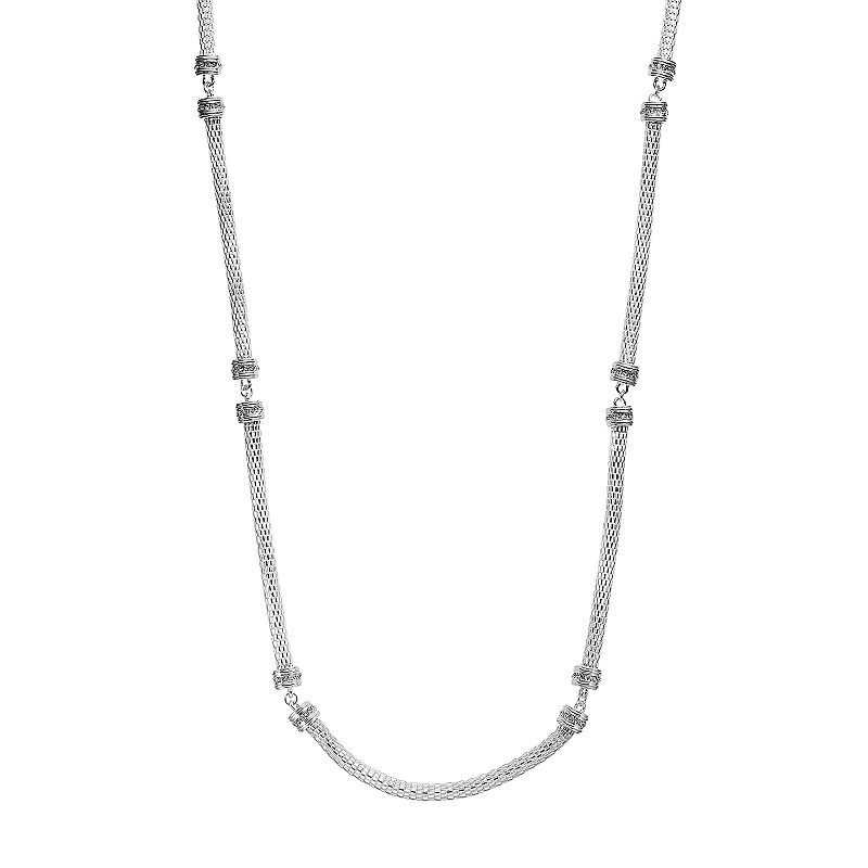 Dana Buchman Long Mesh Necklace