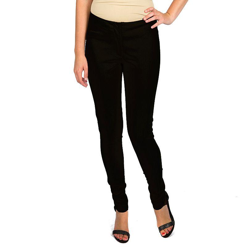 Harve Benard Solid Skinny Pants - Women's