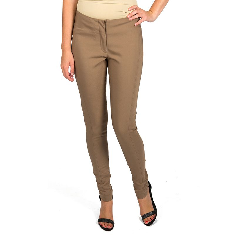 Harve Benard Solid Skinny Pants - Women's