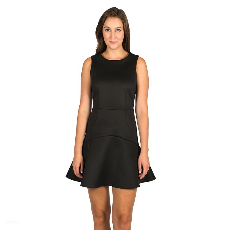 Harve Benard Scuba Fit & Flare Dress - Women's
