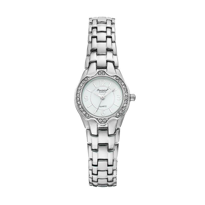 Precision by Gruen Women's Crystal Watch