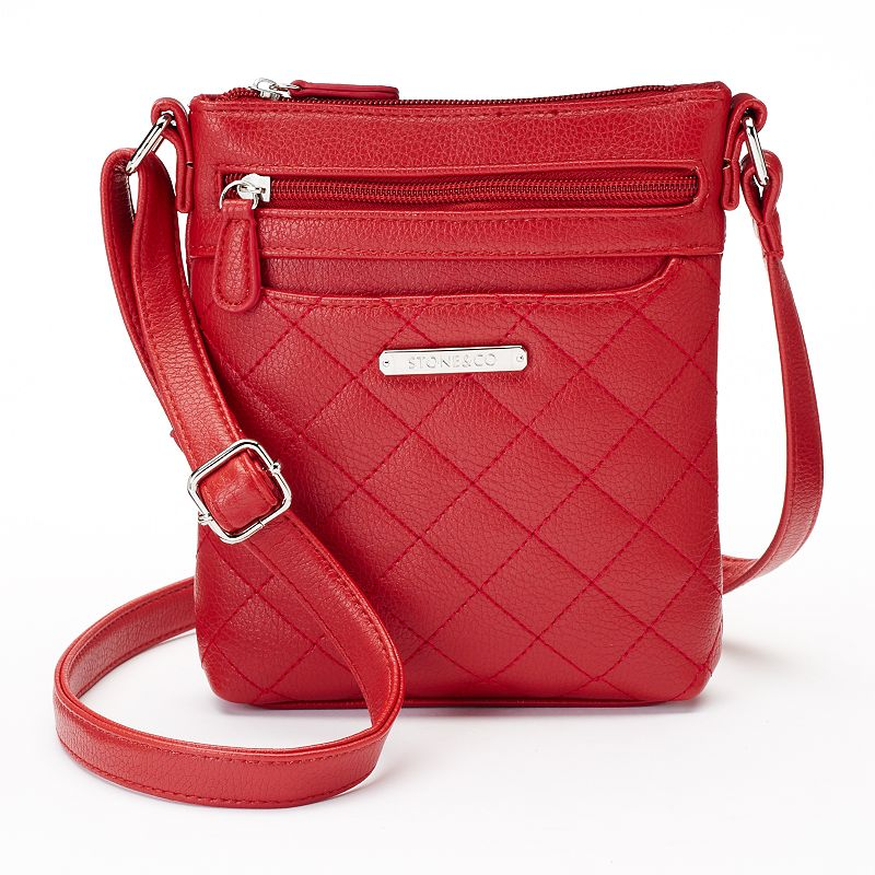 Stone & Co. Quilted Leather Mini Crossbody Bag