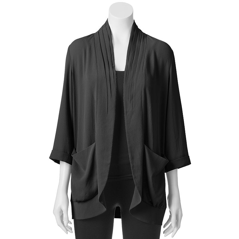 Women's Loramendi Pleated Crepe Blazer