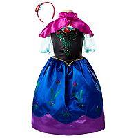 Disney's Frozen Anna Dress & Headband Set