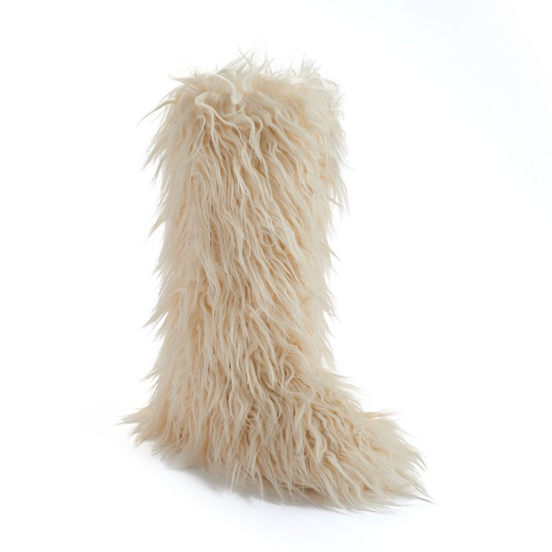 Candie's® Faux-Fur Women's Boot Slippers