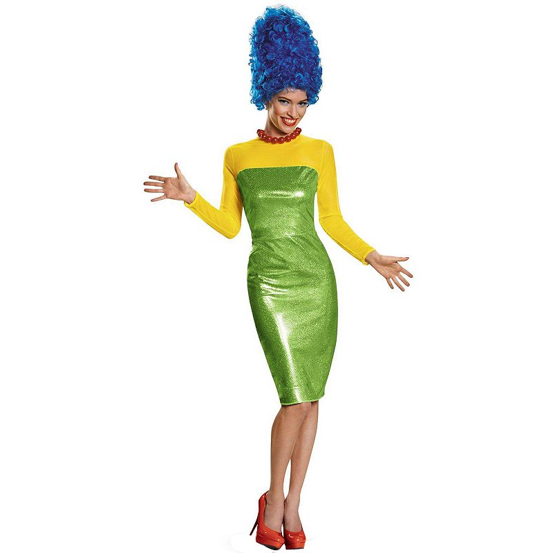 The Simpsons Marge Deluxe Costume - Adult