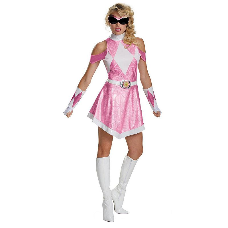 Mighty Morphin' Power Rangers Pink Ranger Deluxe Costume - Adult