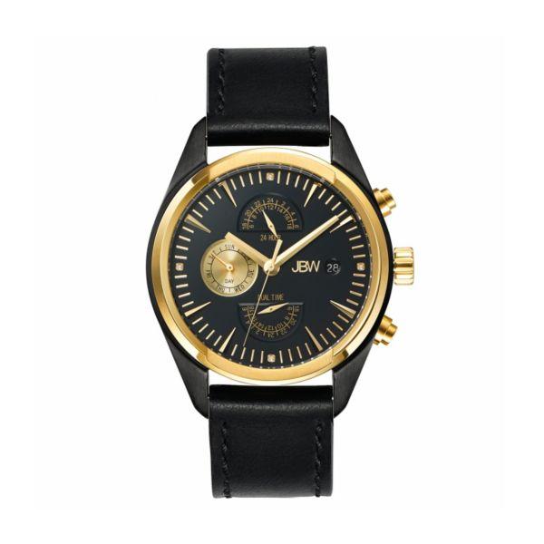 JBW Men's Woodall Leather Watch - J6300C