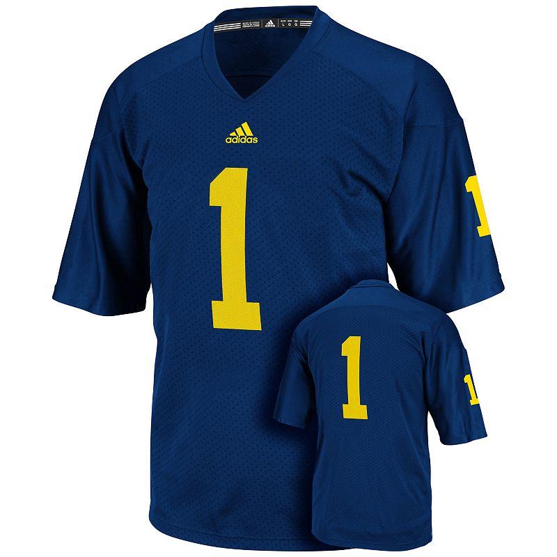 Men's adidas Michigan Wolverines Replica Football Jersey