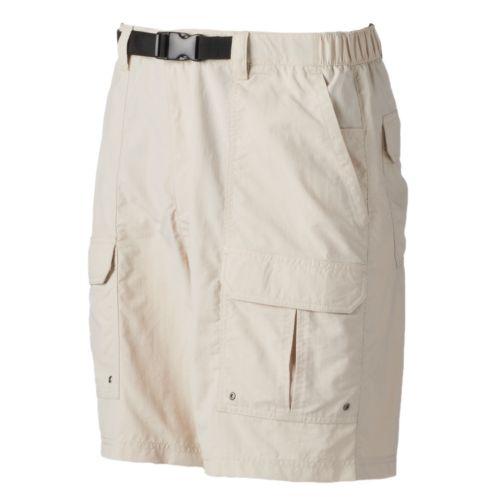 Men's Croft & Barrow® Belted Outdoor Cargo Shorts