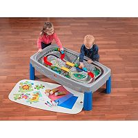 Step2 Deluxe Canyon Road Train & Track Table with Train Cars + $15 Kohls Cash