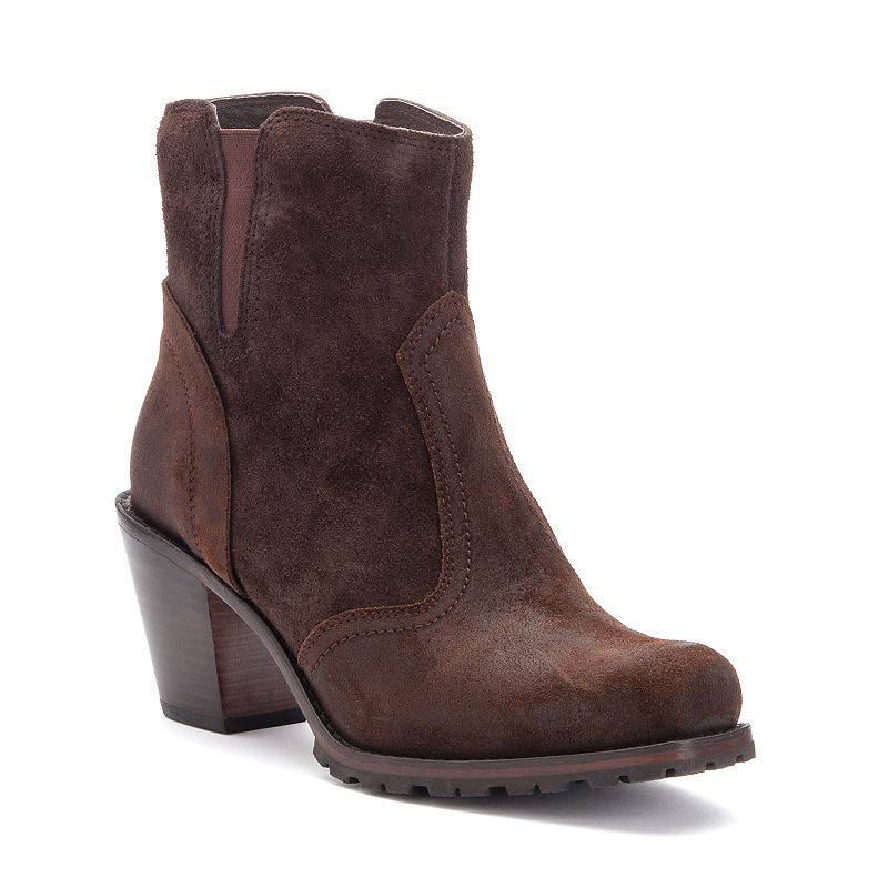 Woolrich Kiva Women's Western Heeled Ankle Boots