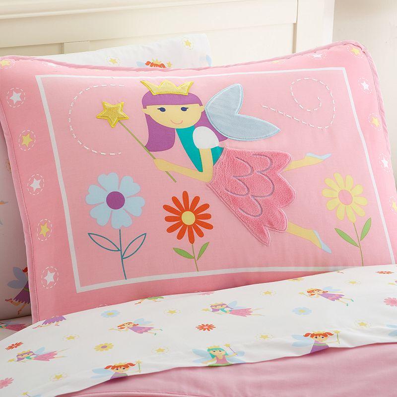 Wildkin Olive Kids Fairy Princess Pillow Sham