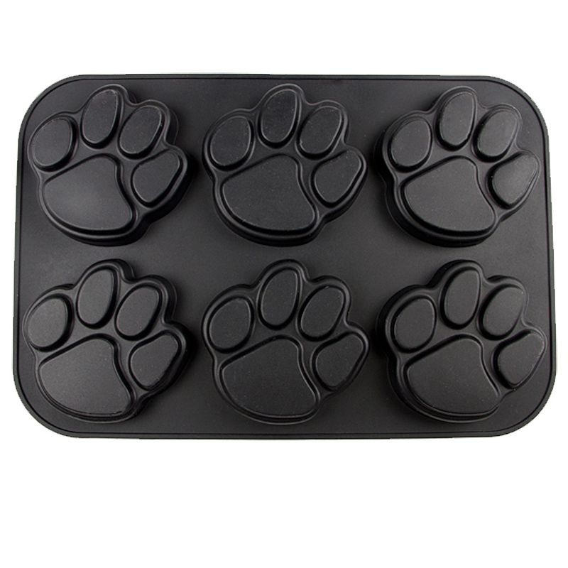 Missouri Tigers 6-Cup Silicone Muffin Pan