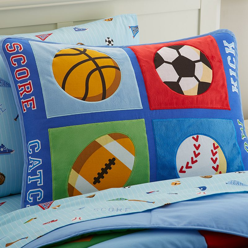 Wildkin Olive Kids Game On Pillow Sham