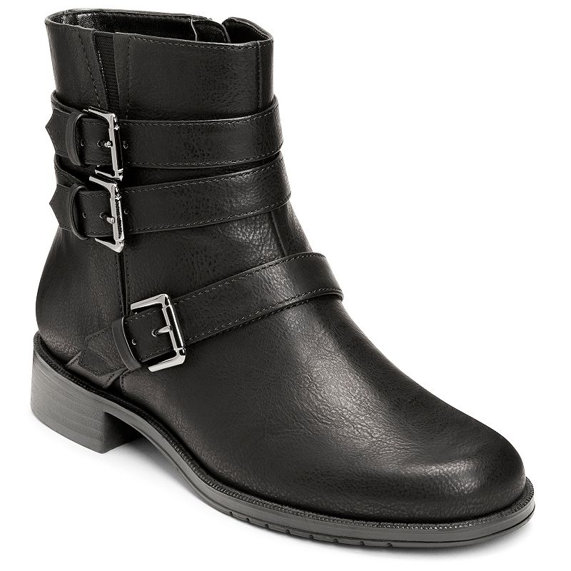 A2 by Aerosoles Long Stride Women's Moto Ankle Boots