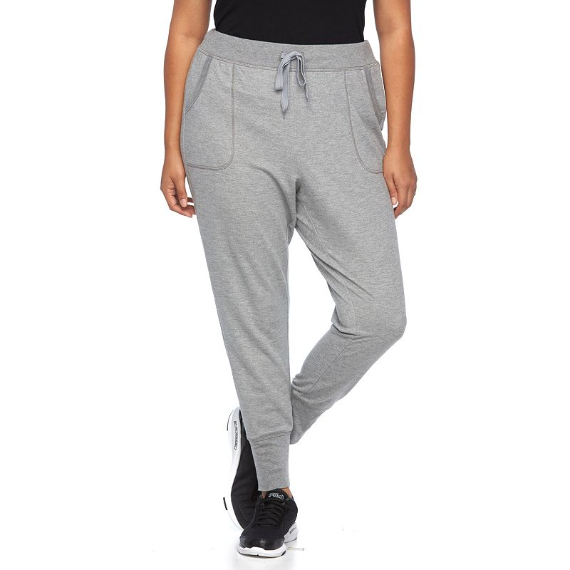Plus Size FILA SPORT® French Terry Jogger Capris