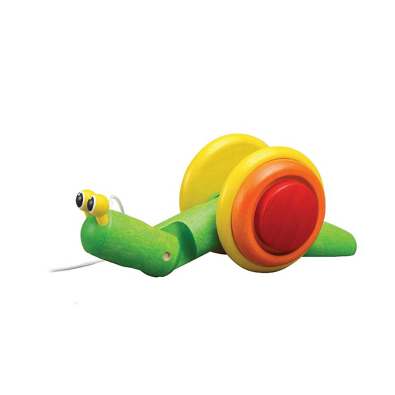 Plan Toys Pull-Along Snail Toy