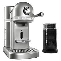 KitchenAid KES0504 Nespresso Machine & Aeroccino + Milk Frother