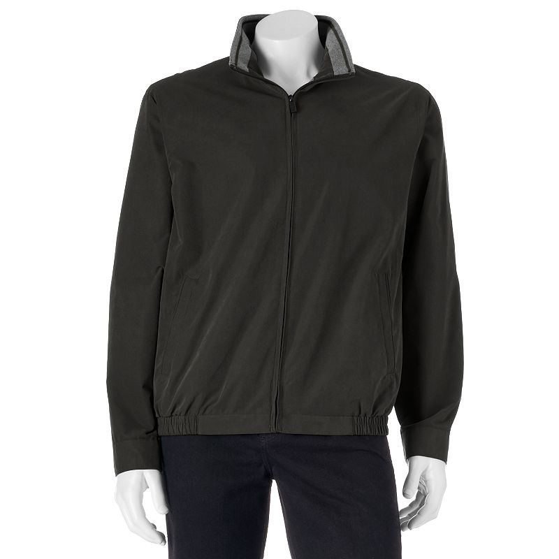 Men's Croft & Barrow® Microfiber Bomber Jacket