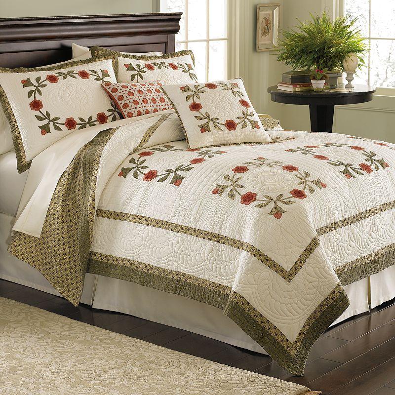 Always Home Folk Art Applique Quilt