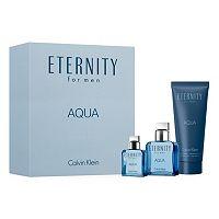 Calvin Klein Eternity Aqua Men's Cologne Gift Set