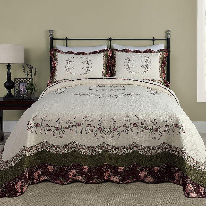 Peking Brooke Quilted Bedspread
