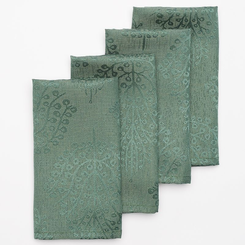 Cuisinart Spice Tree 4-pc. Stain-Resistant Microfiber Napkin Set