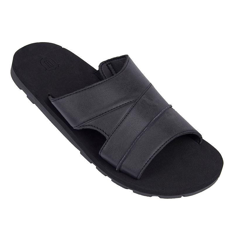 Men's Wembley Black Slide Sandals
