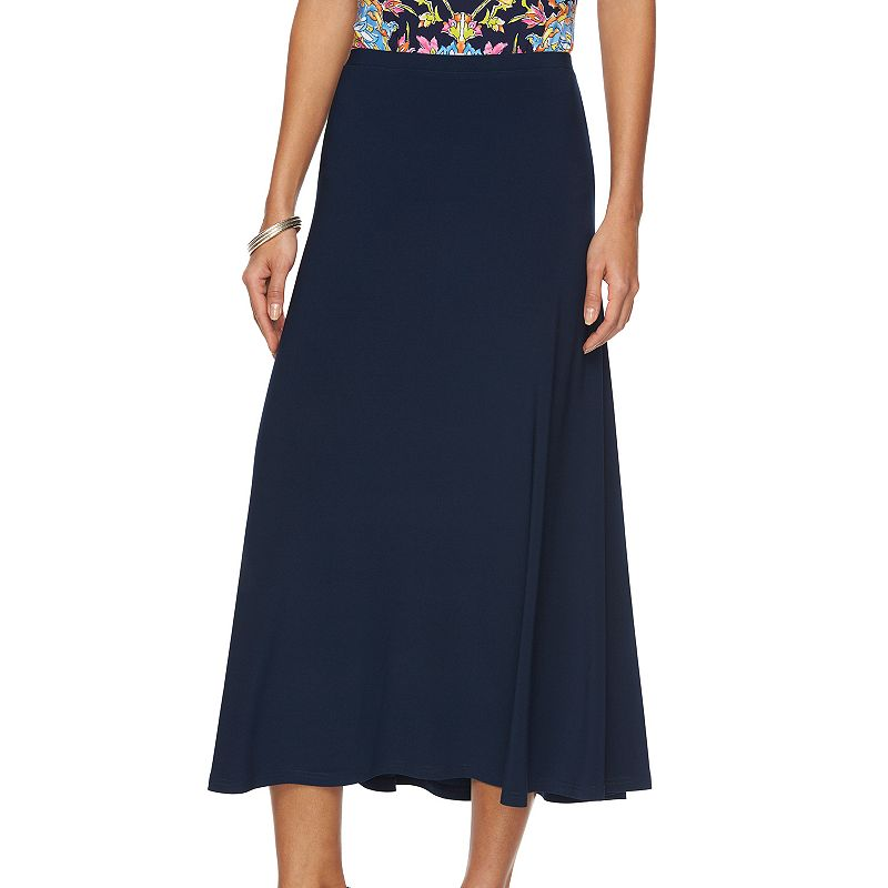 Women's Chaps Solid A-Line Skirt
