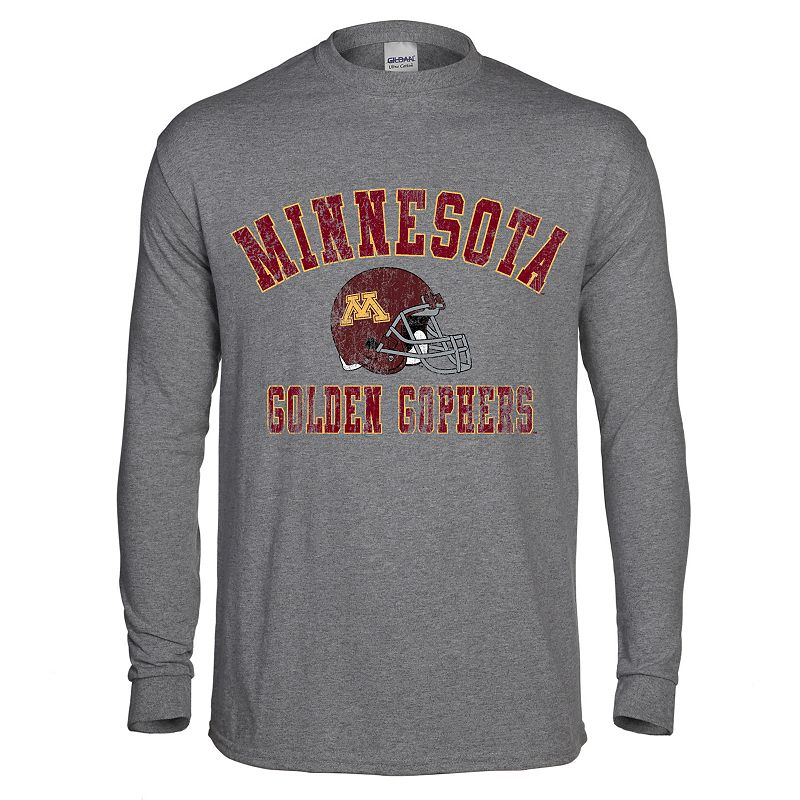 Men's Minnesota Golden Gophers Arch Helmet Tee