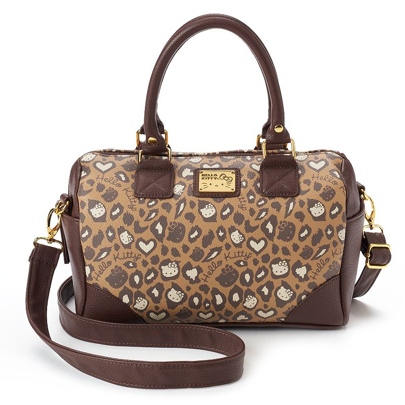 Hello Kitty® Brown Convertible Satchel