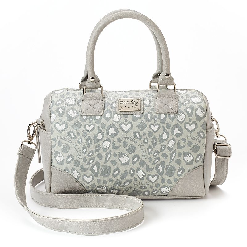 Hello Kitty® Leopard Convertible Satchel