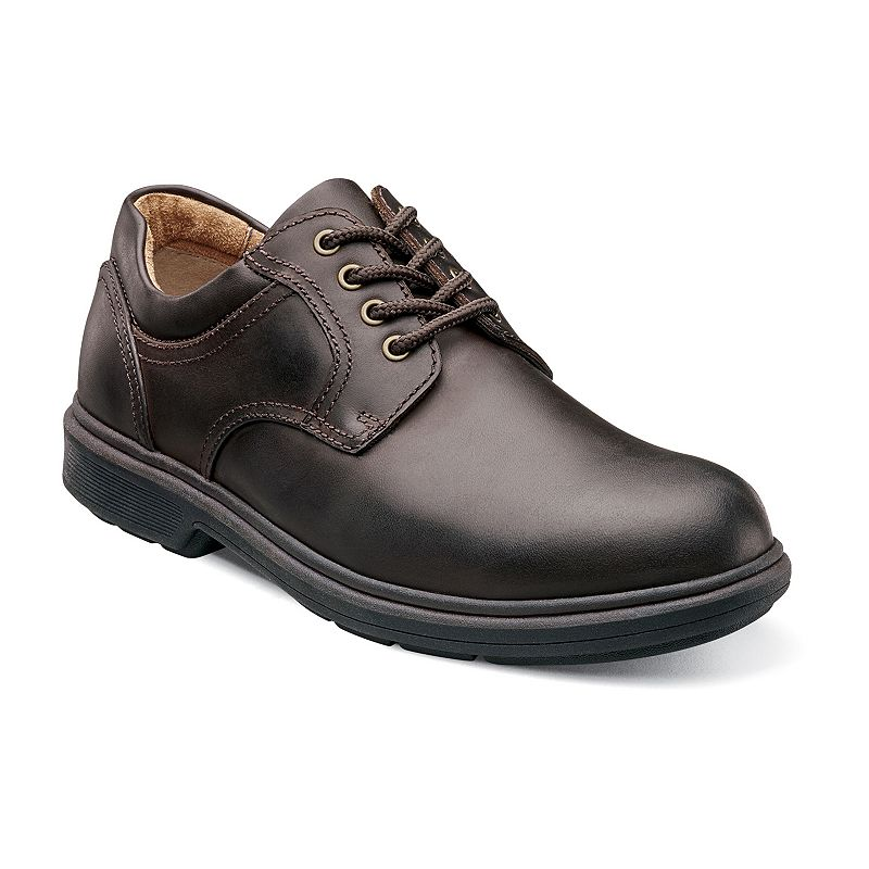 Nunn Bush Waterloo Oxford Plain Toe Waterproof Casual Shoes