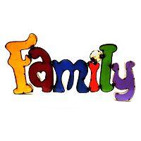 Rustic Arrow ''Family'' Multicolor Wall Decor