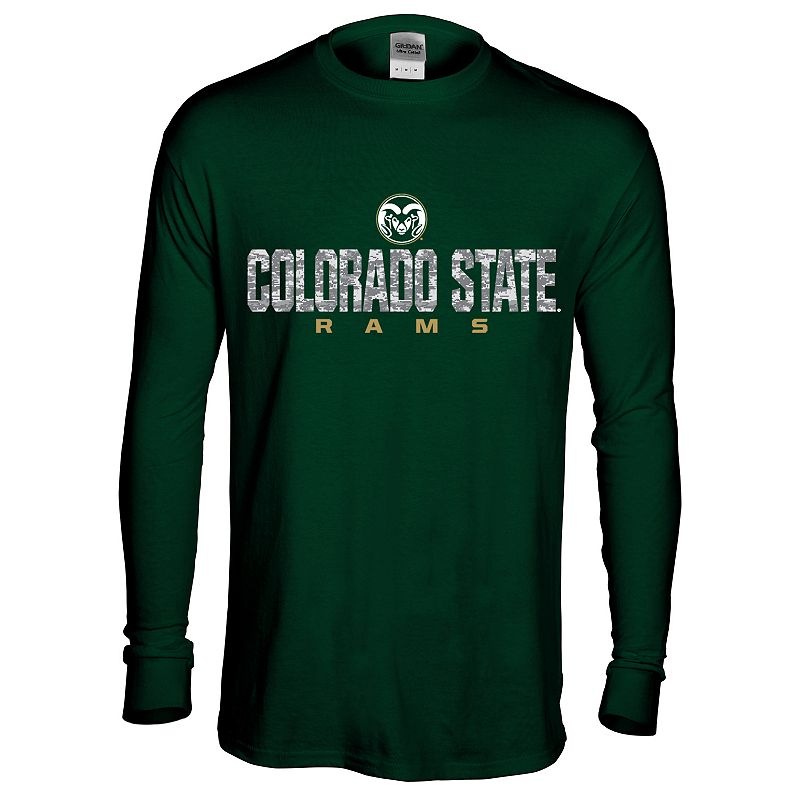 Men's Colorado State Rams Digital Machine Tee