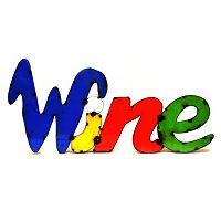 Rustic Arrow ''Wine'' Multicolor Wall Decor