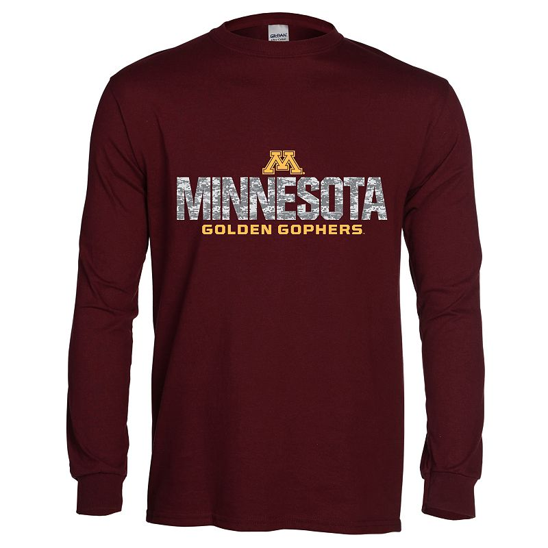 Men's Minnesota Golden Gophers Digital Machine Tee