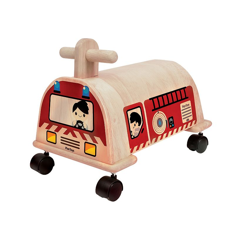 Plan Toys Fire Engine Ride-On