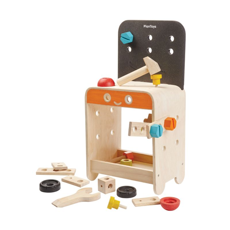 Plan Toys Workbench, Multicolor