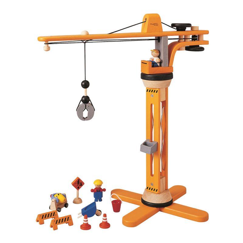 Plan Toys Crane Set, Multicolor thumbnail