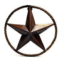 Rustic Arrow Rustic Star Wall Decor
