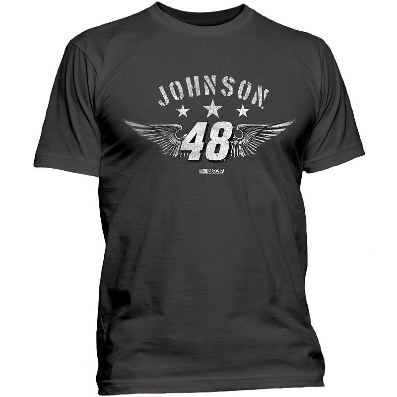 Men's NASCAR Jimmie Johnson Star Wings Tee