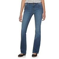 Juniors' Mudd® Faded Skinny Bootcut Jeans