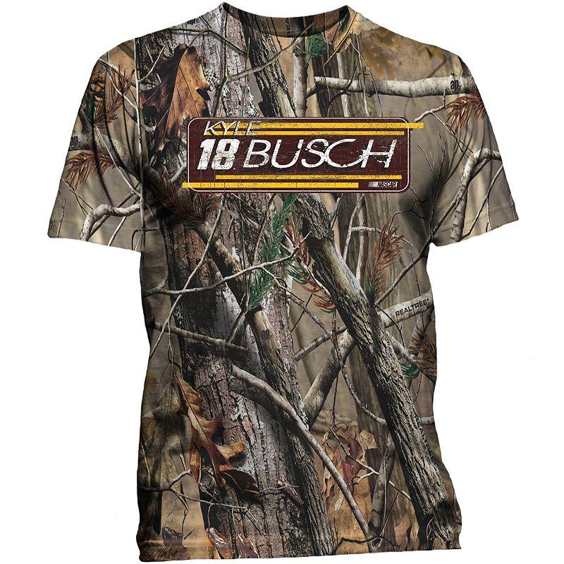 Men's NASCAR Kyle Busch Go Camo Tee