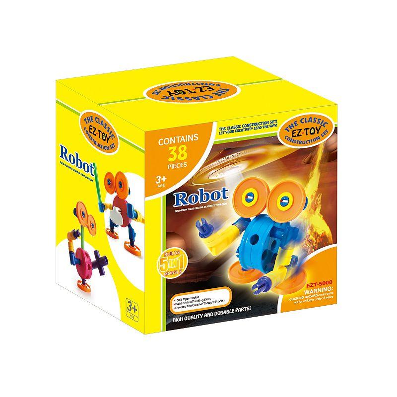 EZ-Toy 38-pc. Robot Construction Set ()