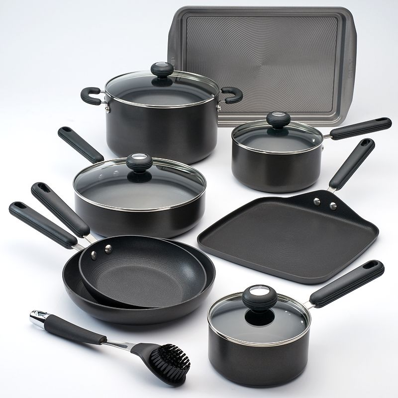 Circulon 13-pc. Hard-Anodized Nonstick Aluminum Cookware Set