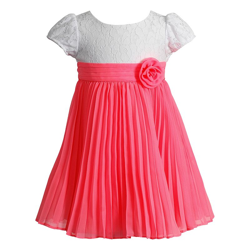 Toddler Girl Youngland Pleated Dress